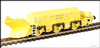 Hattons H4-BH-002 Beilhack snow plough (ex Class 40) ZZA ADB965577 in BR yellow